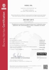 Certificato ISO9001